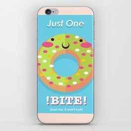 Do-nut even try iPhone Skin
