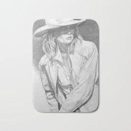 Cowgirl Bath Mat