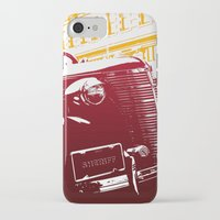 law iPhone & iPod Cases featuring The Law by Steel Graphics