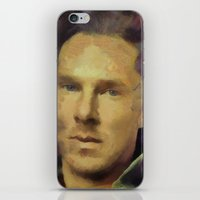 benedict iPhone & iPod Skins featuring benedict cumberbatch by janice maclellan