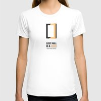 door T-shirts featuring The door opens by Schwebewesen • Romina Lutz