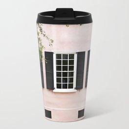 Pink Windows Metal Travel Mug