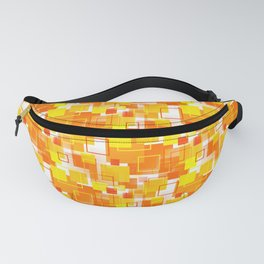 Mid-Century Modern - Orange Fanny Pack