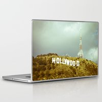 hollywood Laptop & iPad Skins featuring Hollywood by Umbrella Design
