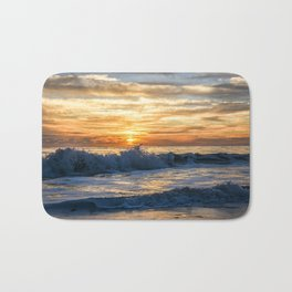 Waves Will Crash but the Sun Will Always Rise Bath Mat