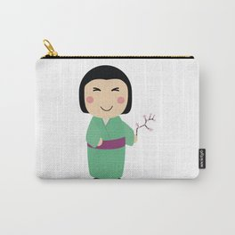 kokeshi doll Carry-All Pouch