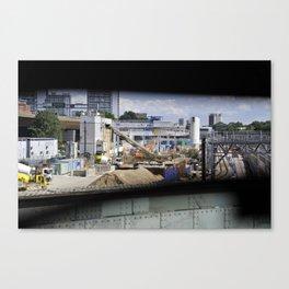 Downtown Canvas Print