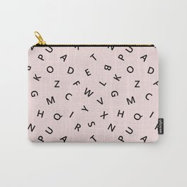 The Missing Letter Alphabet Carry-All Pouch