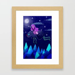 Calm Night Framed Art Print