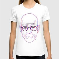 walter white T-shirts featuring Walter White by Bleachydrew