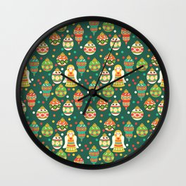 Trim The Christmas Tree Wall Clock