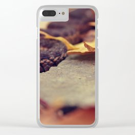 Sneaky Snake Clear iPhone Case