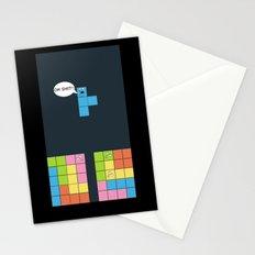 Tetris Stationery Cards