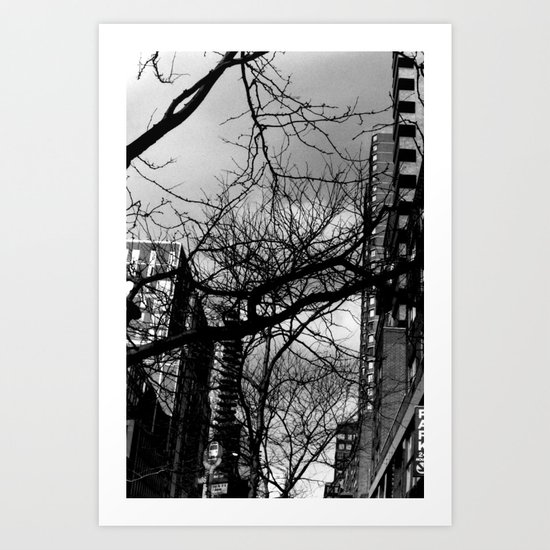 86th Street and 2nd Avenue Art Print