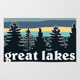 Great Lakes Tree Line Rug