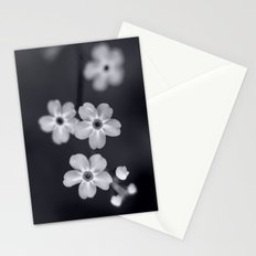 Forget me not BW Stationery Cards