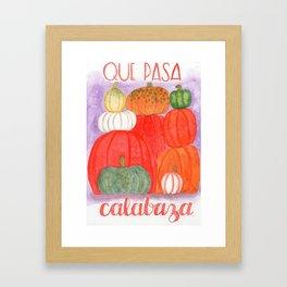 calabasas Framed Art Print