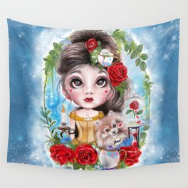 A Beauty & Her Beast by Sheena Pike  Wall Tapestry