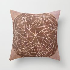 Spinny 2 Throw Pillow