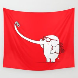 Lonely Traveller Wall Tapestry