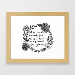 Beautiful Poppies Framed Art Print