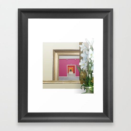 RahmenHandlung 3 Framed Art Print