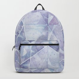 Blue Purple Oval Gem Backpack
