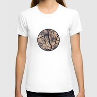 wood T-shirts featuring Wood by Crazy Thoom