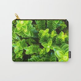Green plant Carry-All Pouch