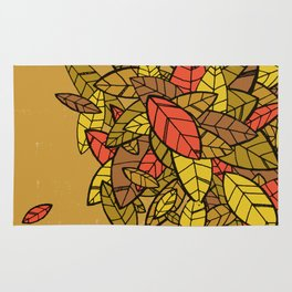 Autumn Memories (a pile of leaves) Rug