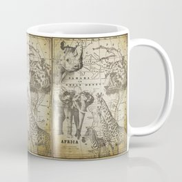 Out of Africa vintage wildlife art Coffee Mug