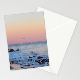 Gliding in Twilight Stationery Cards