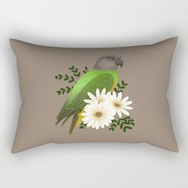 Senegal Parrot Rectangular Pillow