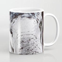 Elephant - Animal Series in Ink Coffee Mug