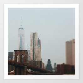 Tilt Shift New York Art Print