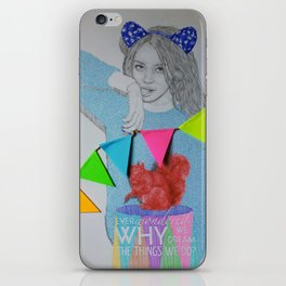 Ever wondered why we dream the things we do? iPhone Skin