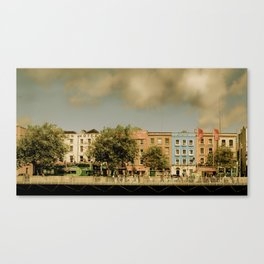Dublin by Day Canvas Print