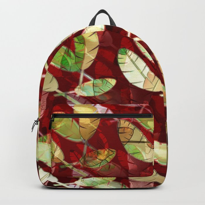 Gilded Feathers Backpack
