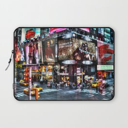 Times Square New York Laptop Sleeve
