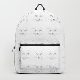 cat's eyes, drawing Backpack