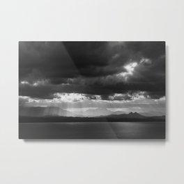 Stormy Landscape Metal Print