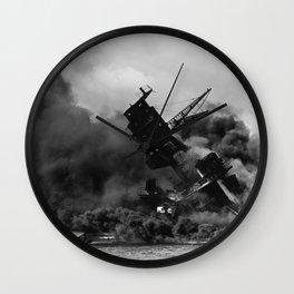 Pearl Harbor Battle Wall Clock
