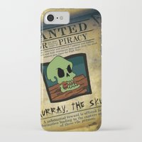 monkey island iPhone & iPod Cases featuring Monkey Island - WANTED! Murray, the Skull by Sberla