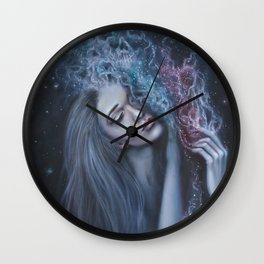 Purging Darkness Wall Clock