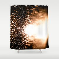 bokeh Shower Curtains featuring bokeh by neutral density