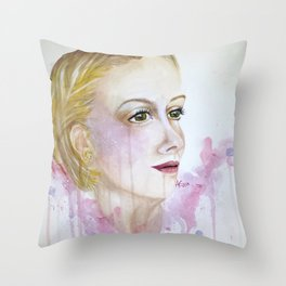 Mary Morstan Throw Pillow