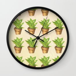Keep Growing Wall Clock