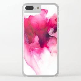 When The Heart Bleeds Clear iPhone Case