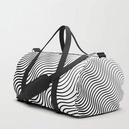Whiskers - Black #399 Duffle Bag