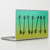 arrows Laptop & iPad Skins featuring Arrows by Leah Flores